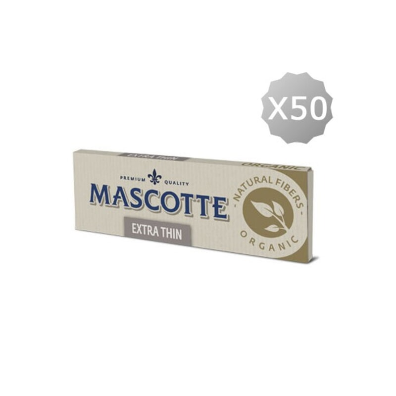 Regular Rolling Paper Mascotte Extra Thin Unbleached