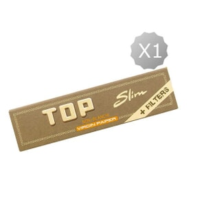 Rolling Papers King Size + Tips Top Virgin Slim King Size + Tips